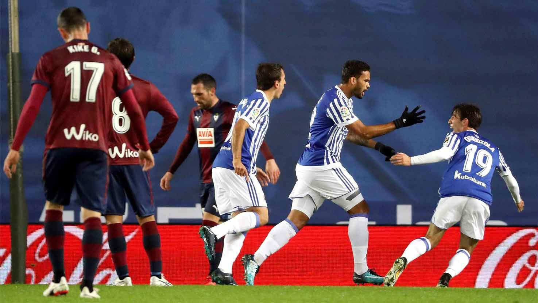 LALIGA   Real Sociedad - Eibar (3-1)