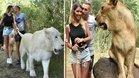 Las imágenes polémicas de Deulofeu y el león