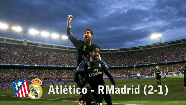 Las mejores imágenes del Atlético - Real Madrid (2-1)