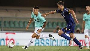 Lautaro Martínez salió como revulsivo del Inter ante el Hellas Verona