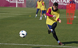 Leo Messi fue sometido a una litotricia