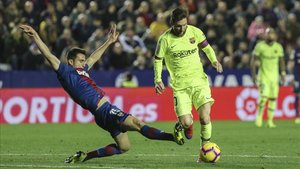 Leo Messi ha ganado un 75% de sus partidos de Liga