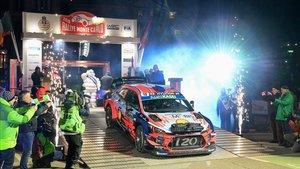 Loeb debutó con Hyundai en Montecarlo
