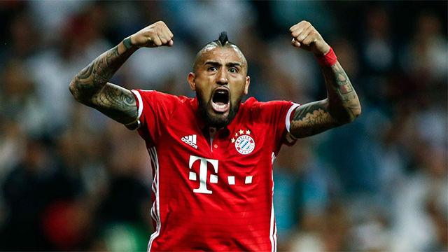 Los cinco mejores goles de Arturo Vidal en la Bundesliga