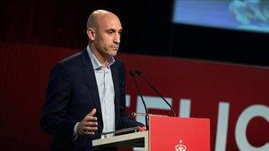 Luis Rubiales trató la decisión del Reus de manera distinta