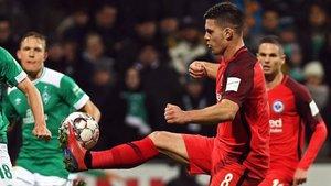 Luka Jovic está realizando una gran temporada en el Eintracht de Frankfurt