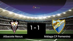 El Málaga saca un punto al Fundación Albacete a domicilio 1-1