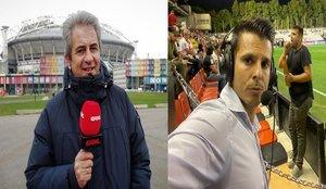 Manolo Lama e Isaac Fouto discuten en Twitter por el penalti no pitado a Piqué