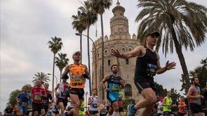La maratón de Sevilla vuelve con muchos alicientes
