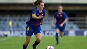 Mariona marcó un gol muy valioso para el Barça Femenino