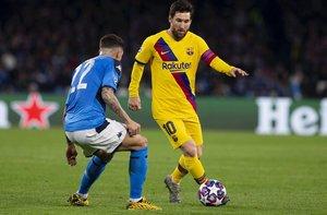 Messi no brilló en el templo de Maradona