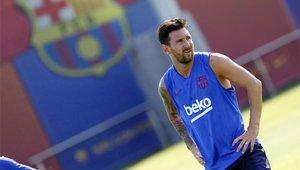 Messi se queda fuera de la lista de Valverde