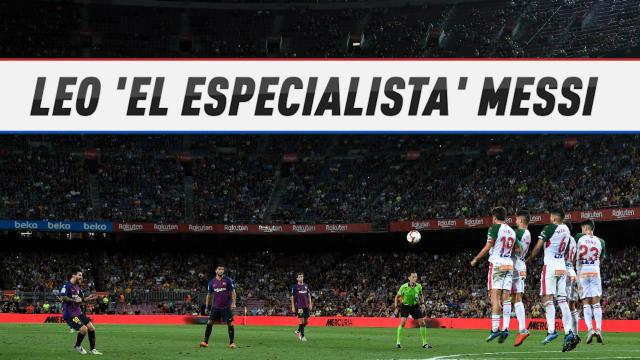 Messi, el Rey de las faltas en Europa