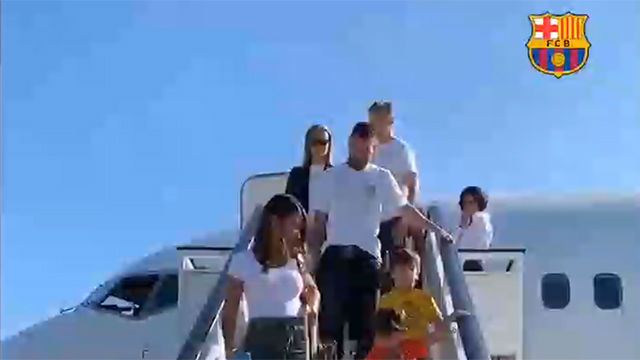 Messi, Ter Stegen y De Jong ya están en Milán