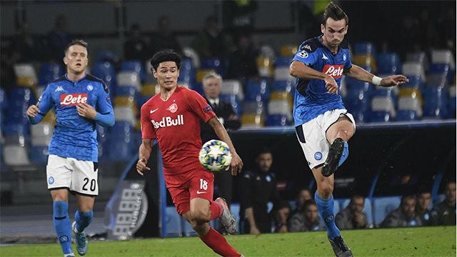 Nápoles y Salzburgo no pasan del empate a uno