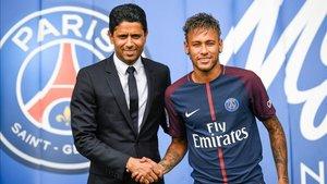 Neymar y Al Khelaifi establecieron las condiciones de la posible salida del brasileño