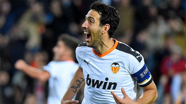 Parejo inició la remontada del Valencia con un gol de Panenka