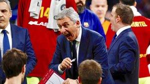 Pesic quiere intensidad máxima en sus hombres de cara al duelo ante el Baskonia