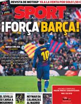 La portada del miércoles 14 de marzo de 2018
