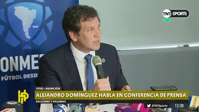 El presidente de la CONMEBOL anuncia la fecha final de la final de la Libertadores