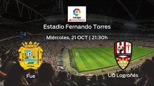 Previa del encuentro: CF Fuenlabrada - Logroñés