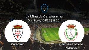 Previa del encuentro: RCarabanchel - San Fernando de Henares