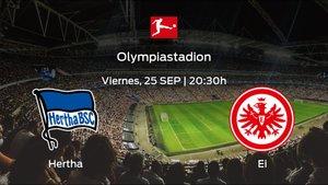 Previa del partido: Hertha BSC - Eintracht Frankfurt