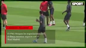 El PSG bloquea las negociaciones con el Barça por Neymar
