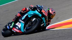 Quartararo firmó una pole brillante