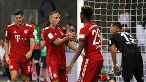 Ribéry apadrinó a Coman en su llegada al Allianz Arena y el joven extremo se lo reconoce en una entrevista reciente