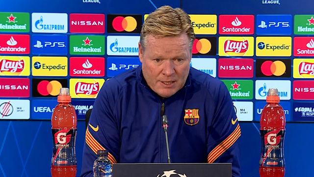 Ronald Koeman aclaró la ausencia de Messi en la lista
