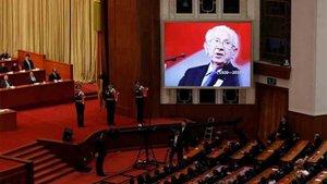 Samaranch recibió un homenaje en China