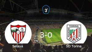 El Selaya se lleva el trinufo tras golear 3-0 al Torina
