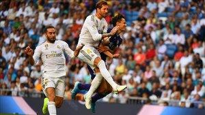 Sergio Ramos no pudo evitar el empate del Valladolid