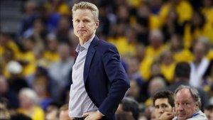 Steve Kerr, técnico de los Warriors
