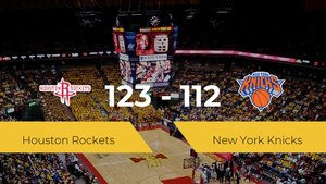 Triunfo de Houston Rockets ante New York Knicks por 123-112