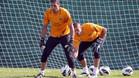 Valdés y Pinto mantienen una fría relación