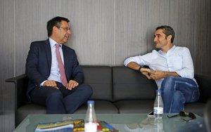 Valverde cuenta con la confianza de Bartomeu
