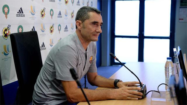 Valverde no pide más fichajes, pero no descarta nada