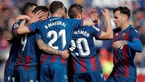 Victoria balsámica para los jugadores del Levante