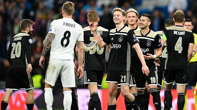 El video de una noche histórica para el Ajax: así fue la goleada al Madrid