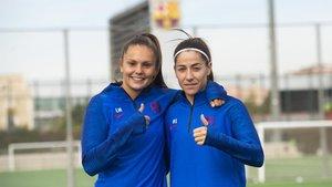 Vuelven Vicky Losada y Lieke Martens