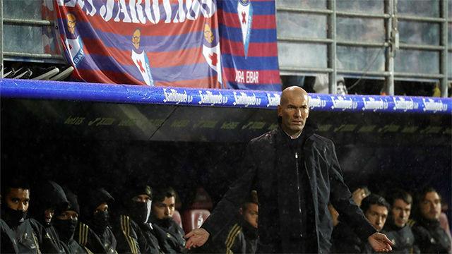 Zidane, tras la victoria ante el Eibar: Quizá sean los mejores 45 minutos desde que volví
