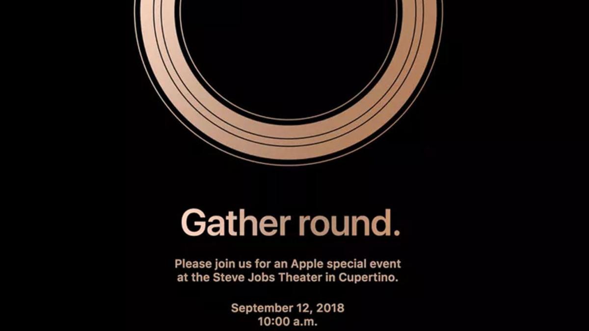 Los próximos iPhone de Apple se presentarán el próximo 12 de septiembr