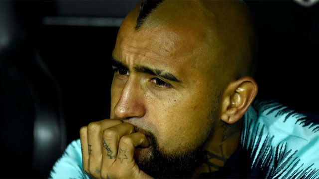 Cómo se tomó el vestuario del Barça el enfado de Vidal