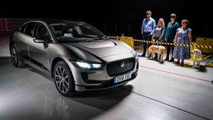 El Jaguar I-Pace alertará a los peatones de su presencia mediante un sonido.