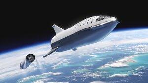 Musk quiere llegar a Marte con su Starship.