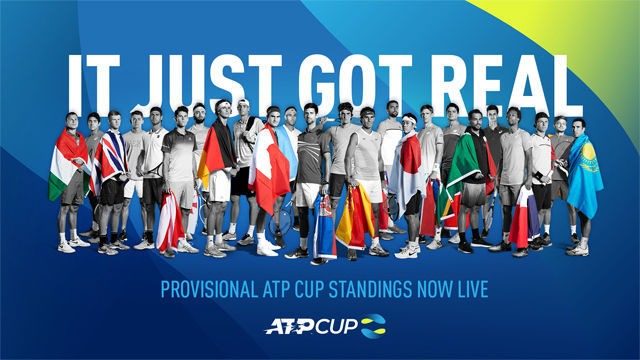 La ATP Cup echa a andar