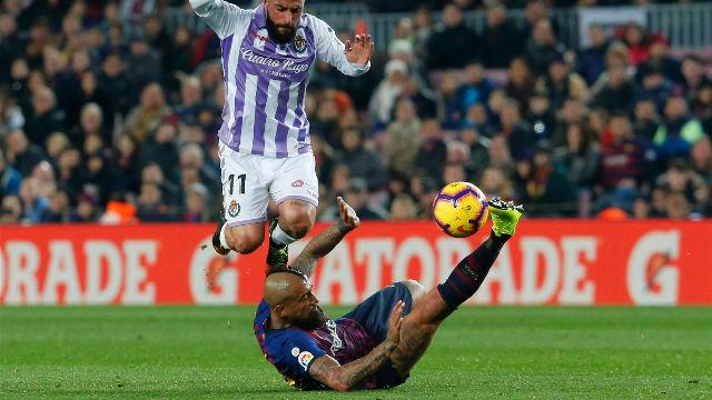 El 1x1 de los jugadores del Barça en la primera parte ante el Valladolid