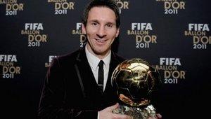 En 2011, Messi ganó su tercer Balón de Oro consecutivo